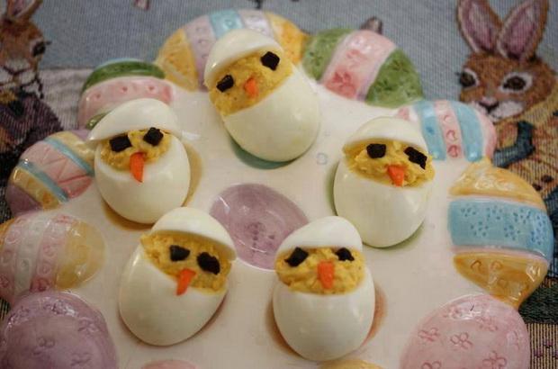 сварени яйца