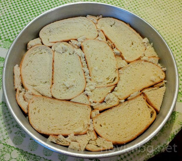 баница от хляб - 1