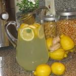 чай от лимон и джинджифил