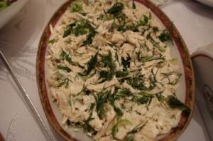 пилешка салата