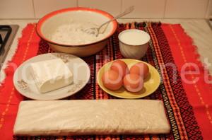 Баница с ориз - продукти