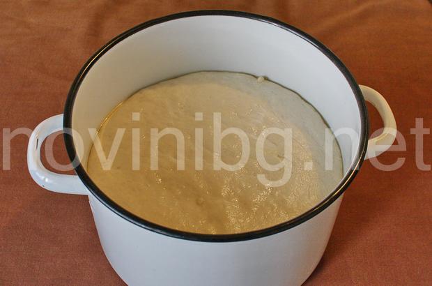 Милинки - тестото втасва