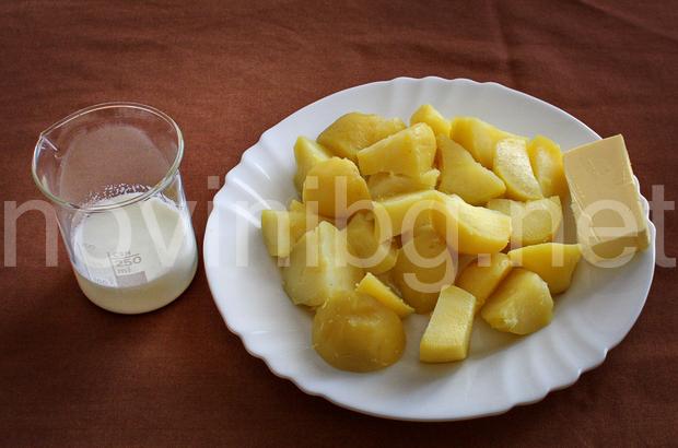 Картофено пюре - продукти