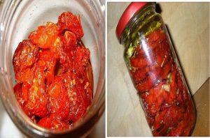 печени домати