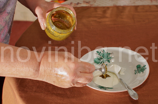 Карфиол на фурна - направа на соса