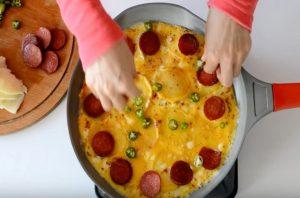 картофена пица