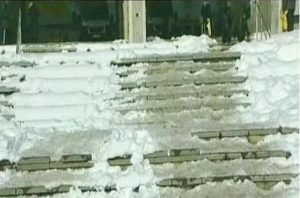 заледени стълби