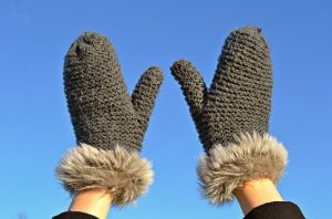 ръце зима