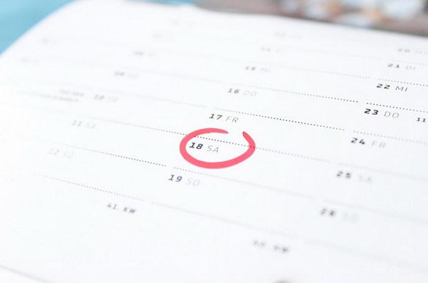 рожден ден календар