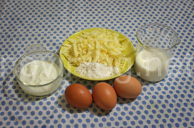 Мусака с хляб - продукти за заливката