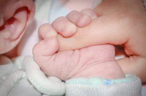 бебе ръка