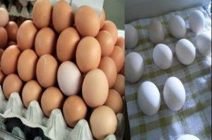 яйца избелване