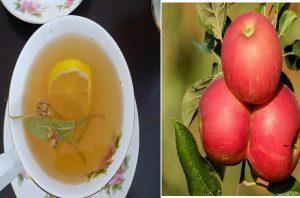 липа и ябълки