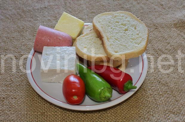 Идея за закуска - продукти за закуска с колбас и сирене