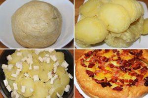 питка с картофи