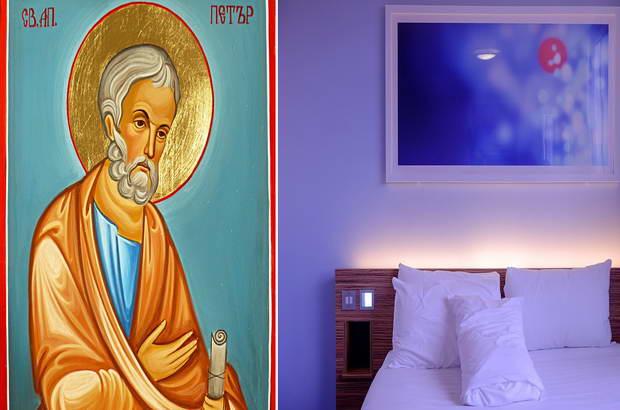 икони спалня