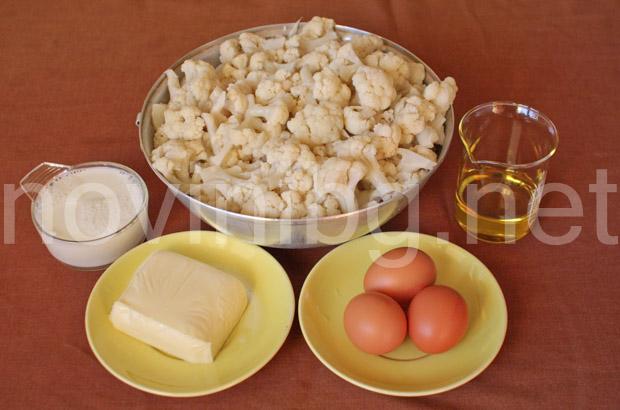 Карфиол на фурна - продукти